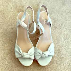 Charles by CD Wedges Pale Blue